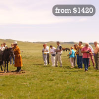 Great Mongolia excursion tour